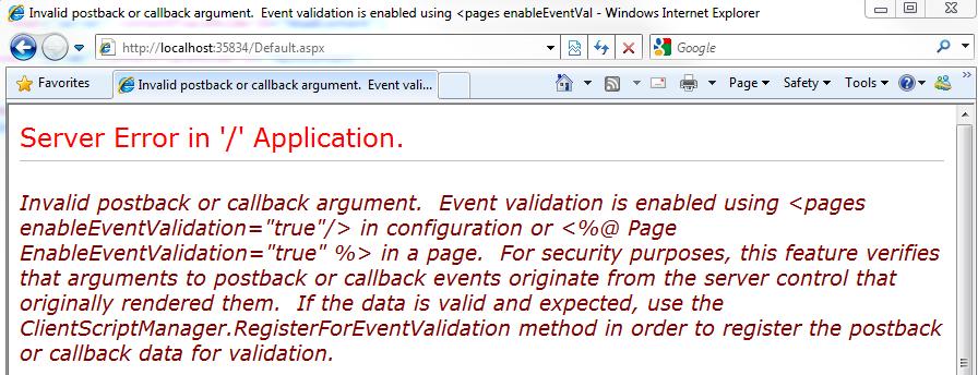 N'oubliez pas de masquer les erreurs serveurs sur vos sites web en prod